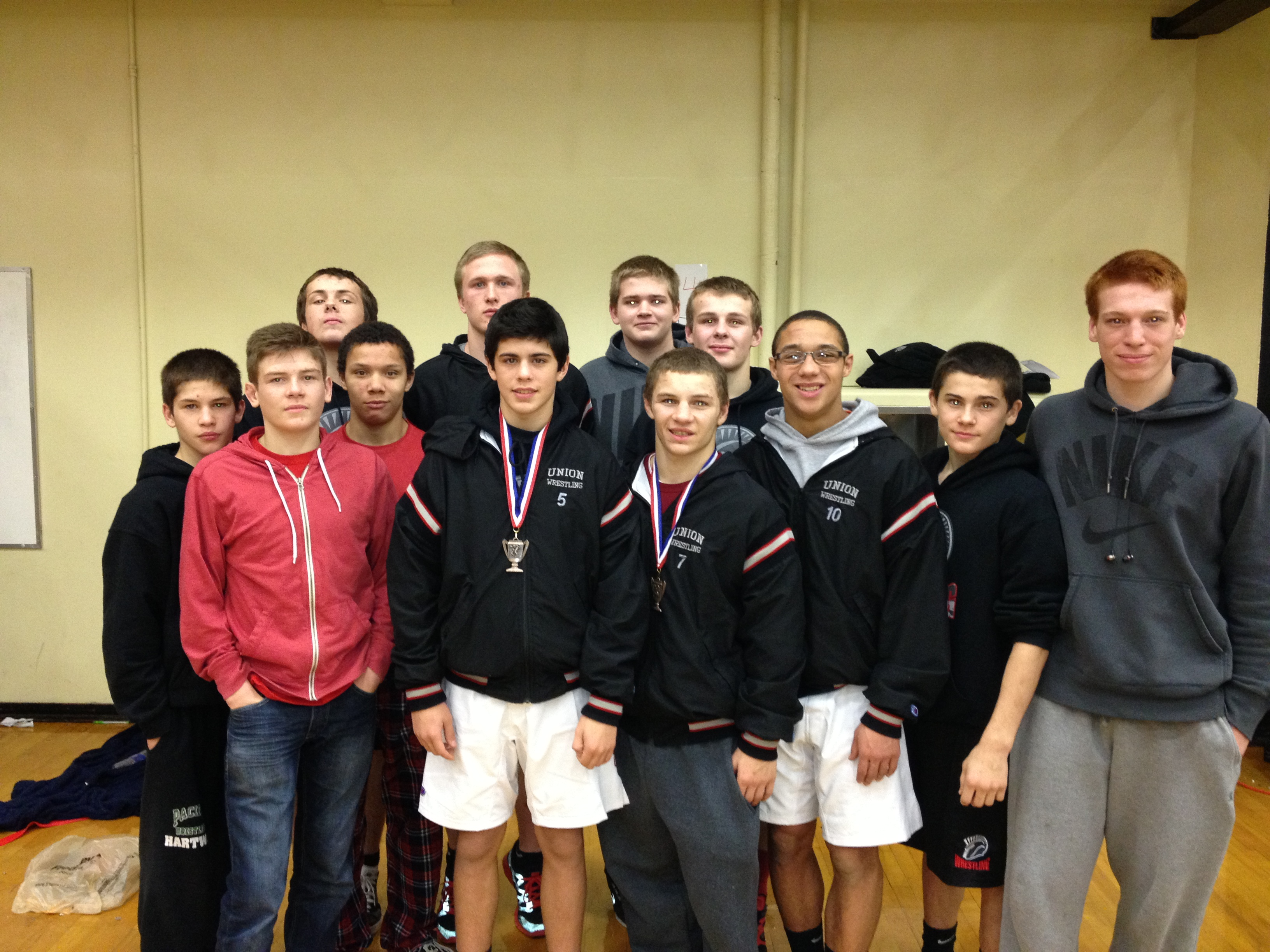 Union Titans take 7th at Pac Coast