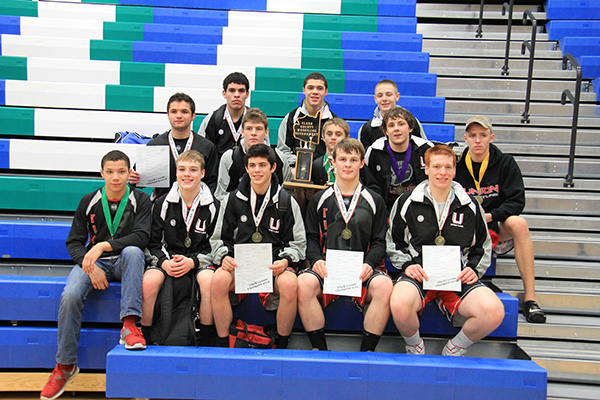 Union Placers - Clark County Championships (18 Jan 2014)