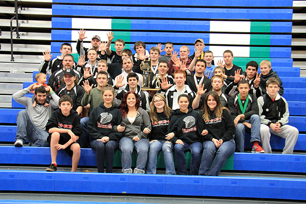 Union claims 5th straight team title at Clark County Team Championships (18 Jan 2014)