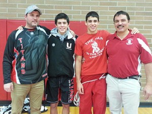 Godinho Family at Castle Rock Dual (19 Dec 2013)