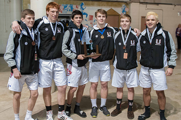 Union High School's 2014 State Placers