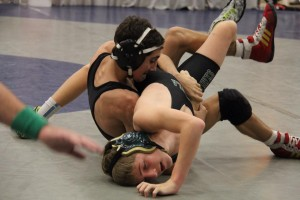 Ethan vs. Peninsula at Olympic Duals 2014