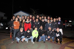 Titan Wrestling with Community Embraced Northwest Crew to feed the Homeless, Thanksgiving 2014