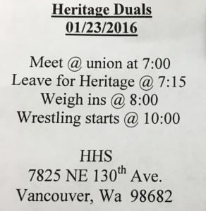Fridger: Heritage Duals